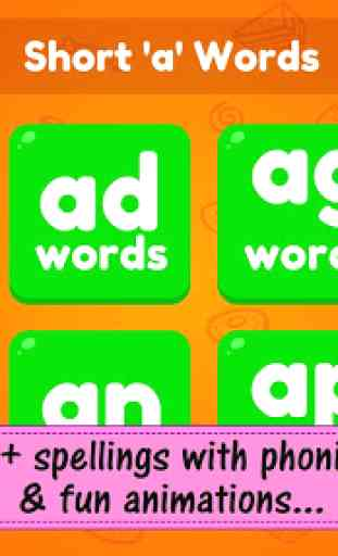 ABC Preschool Kids Spelling Tracing & Phonics game 2