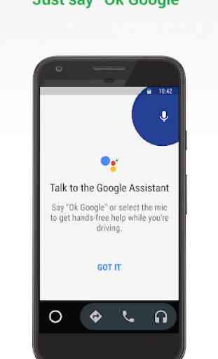 Android Auto para pantallas de teléfonos 1