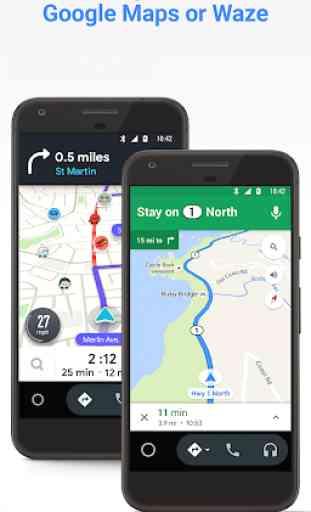 Android Auto para pantallas de teléfonos 2