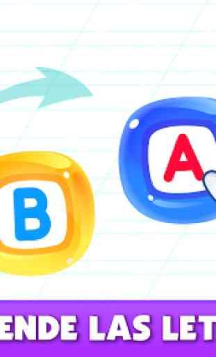 Bini Super ABC juego! Juegos educativos para niños 2