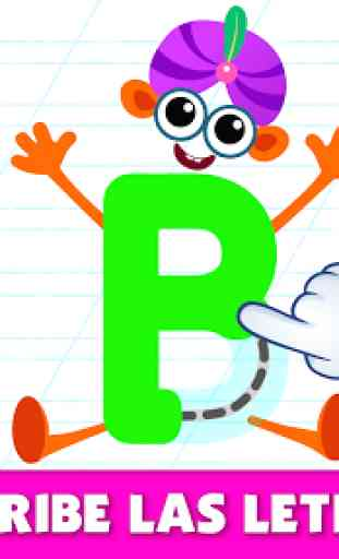 Bini Super ABC juego! Juegos educativos para niños 3