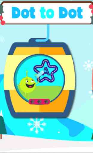 Dot to dot Game - Connect the dots ABC Kids Games 1