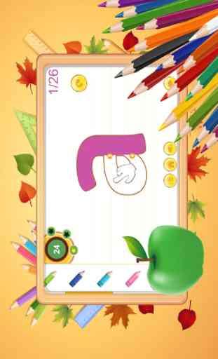 escritura alfabeto ABC niños - rastreo y fonética 4