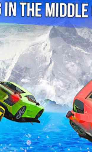 Frozen Water Slide Car Race: Aqua Park adventure 4