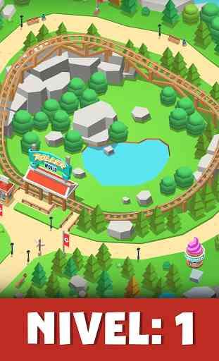 Idle Theme Park Tycoon - Juego de parque temático 1