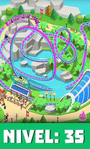 Idle Theme Park Tycoon - Juego de parque temático 2