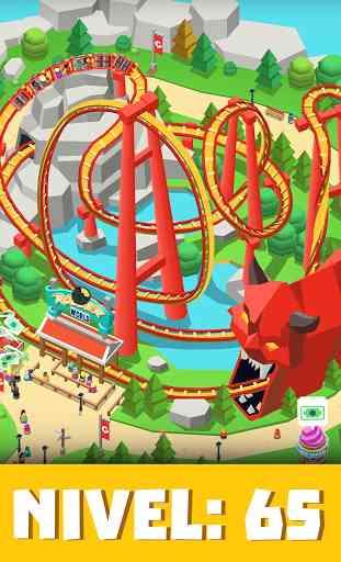 Idle Theme Park Tycoon - Juego de parque temático 3