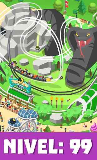 Idle Theme Park Tycoon - Juego de parque temático 4