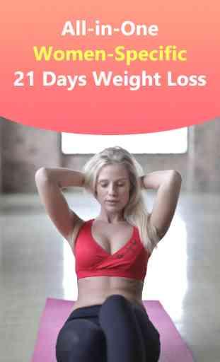 Pierde peso en 21 días - adelgaza gratis y en casa 1