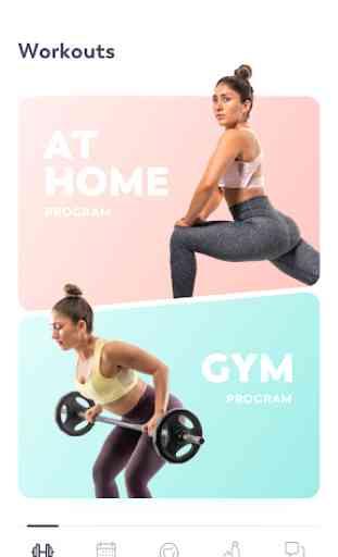 StrongHer: Fitness femenino y un cuerpo de bikini 1