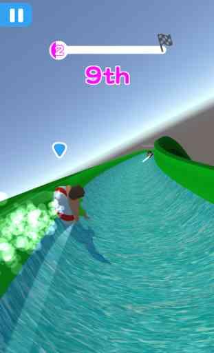 Water Park Race Roller Rush IO 1