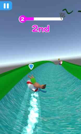 Water Park Race Roller Rush IO 2