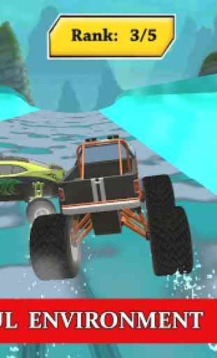 Water Park Truck Stunts and Race : Water Adventure 1