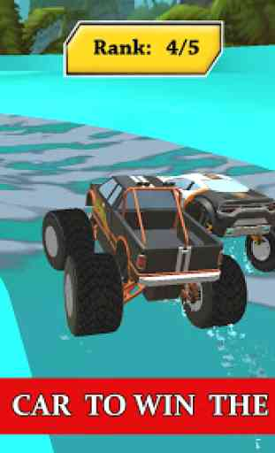 Water Park Truck Stunts and Race : Water Adventure 2