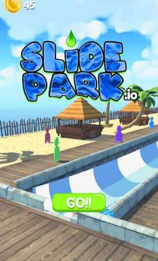 Waterpark Slide.io ! 1