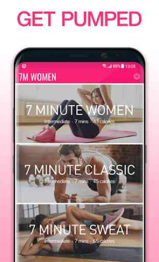 Workout for Women   Weight Loss Fitness App by 7M 2