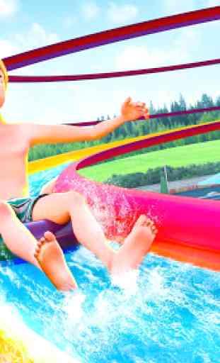 Agua Parque Diapositiva Carreras Aventuras 1