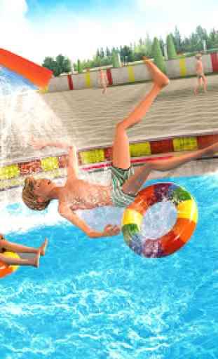 Agua Parque Diapositiva Carreras Aventuras 2