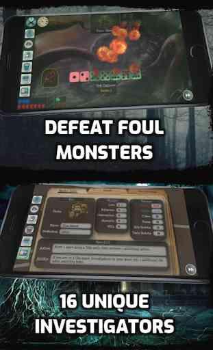 Ancient Terror: Lovecraftian Strategy Board RPG  4