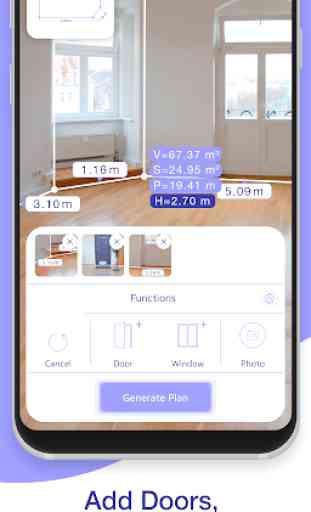 AR Plan 3D Regla – Camera to Plan, Floorplanner 2
