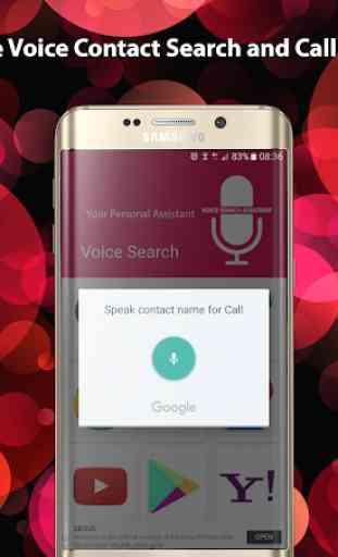 Asistente de búsqueda por voz: Asistente personal 3