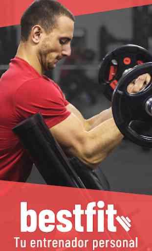 BestFit: Rutina Gimnasio - Entrenamiento y Fitness 1