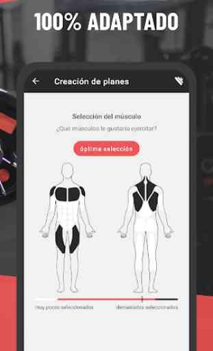 BestFit: Rutina Gimnasio - Entrenamiento y Fitness 2