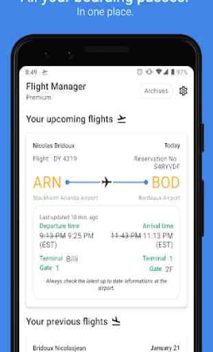 Boarding Pass Wallet: gestor de tus vuelos 4