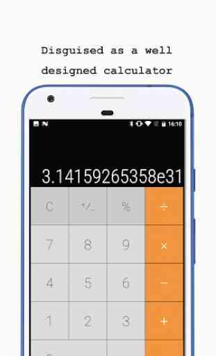 Calculadora - Photo Vault (oculta tus fotos) 1