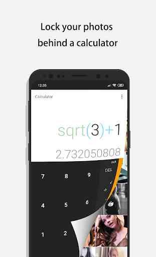 Calculadora - Photo Vault oculta tus fotos 1
