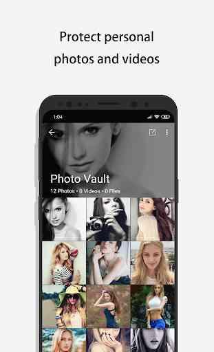 Calculadora - Photo Vault oculta tus fotos 3