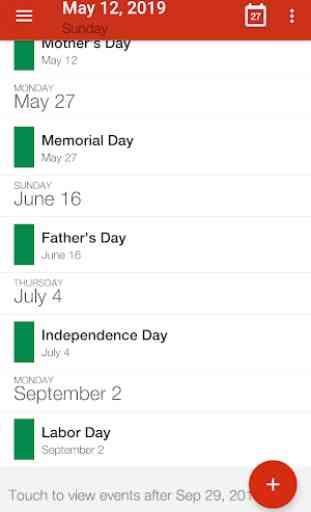 Calendar App - Calendar 2019, Reminder, ToDos 2