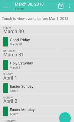 Calendar - Calendar 2019, Reminder, ToDos 2