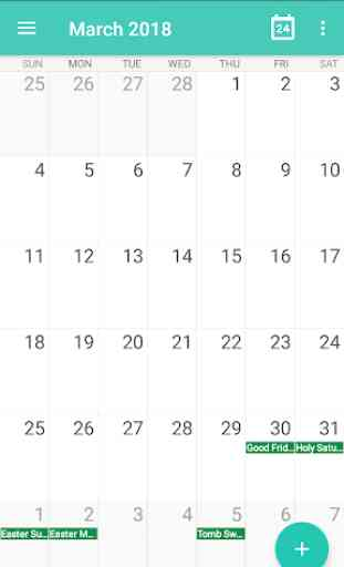 Calendar - Calendar 2019, Reminder, ToDos 3