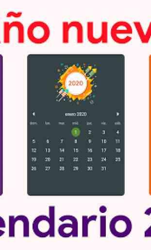 Calendario 2020 - Diario, Eventos, Vacaciones 1