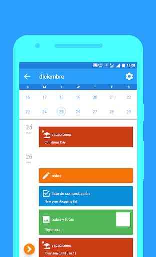 Calendario 2020 - Diario, Eventos, Vacaciones 3