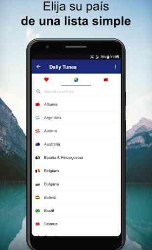 Daily Tunes - Radios online mundiales & emisoras 2