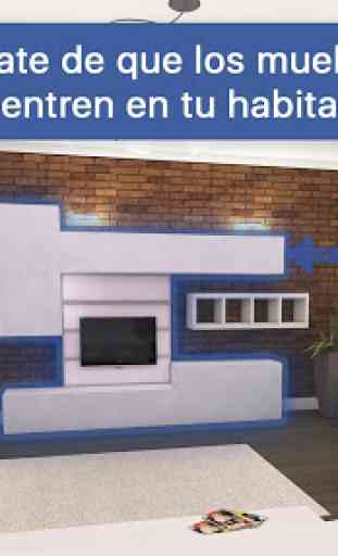 Diseñador de Habitaciones: Diseño casa 3D 2