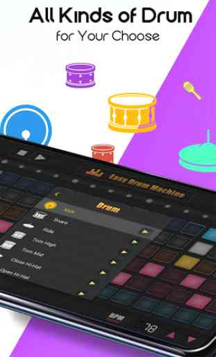 Easy Drum Machine - Beat Machine & Drum Maker 4
