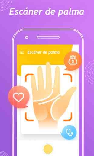 Face Secret App - Lectura facial,OBTURADOR DE 2