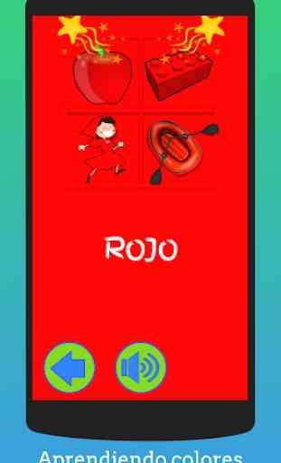 Juegos educativos de preescolar para niños Español 2