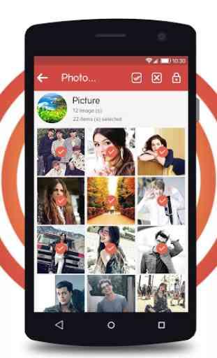 Ocultar foto, video, bloquear aplicación 2