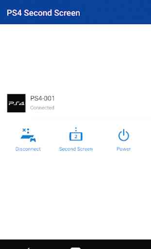 PS4 Second Screen 1