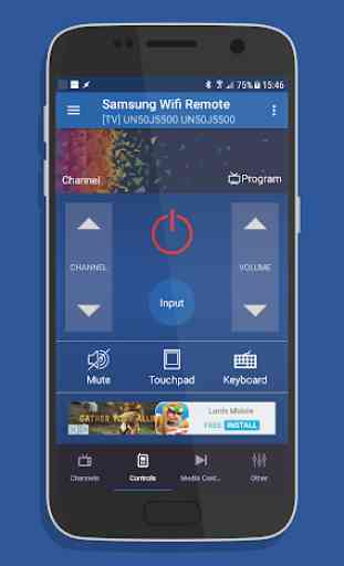 Remote for Samsung Smart TV WiFi Remote 1