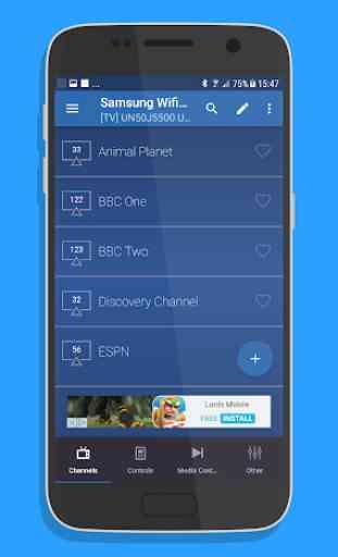 Remote for Samsung Smart TV WiFi Remote 2