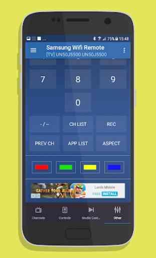 Remote for Samsung Smart TV WiFi Remote 4