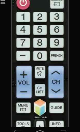 Remote for Samsung TV | Smart & WiFi Direct 1