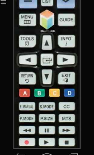 Remote for Samsung TV | Smart & WiFi Direct 2