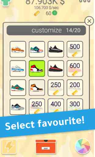 Sneaker Tap - Game about Sneakers 4
