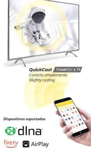 Transmitir a Chromecast FireTV Android TV KODI QC 1